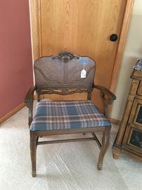 Art Deco vanity chair/side chair