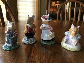 Royal Doulton Bunnykin figurines