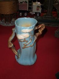 """Roseville Ming Tree 10"""" vase"""