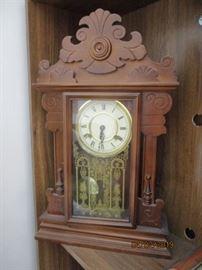 mantel clock modern