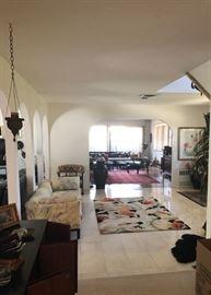 Fabulous vintage  home furnishings throughout
