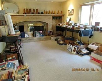 OVERVIEW OF THE BOOKS AND VINYL AVAILABLE