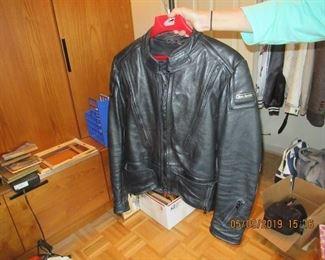 GERMAN LEATHER MOTORCYCLE COAT