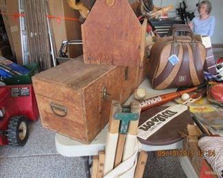 antique tool chests