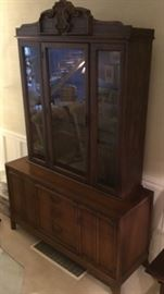 China Hutch from Pier I, Like New with loads of storage.