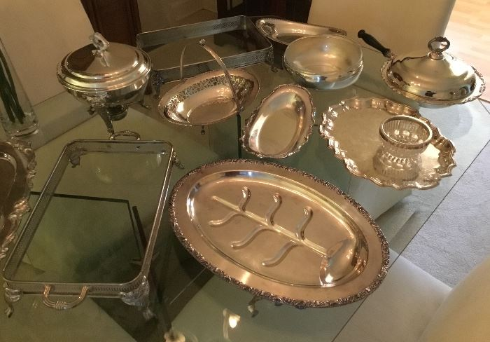 Lovely Silver Serving pieces