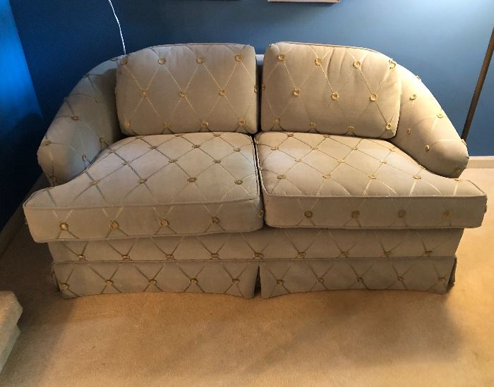 Very nice upholstered love seat