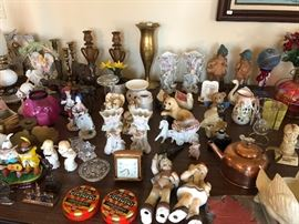 Lots of porcelain and misc