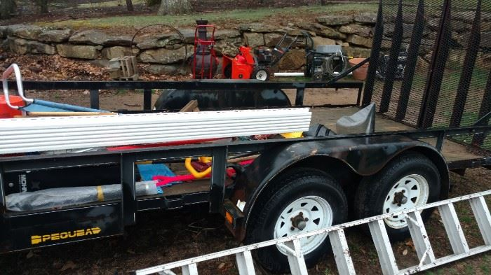 Large Trailer for sale  Will sell early   $2400 Firm