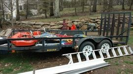 Large Trailer  Will sell early $2400 Firm