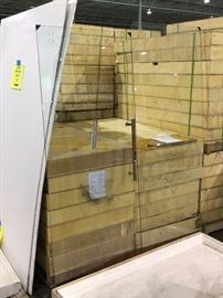 Glass Shower Doors with all hardware included