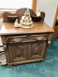 Carved Victorian Washstand