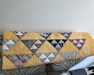 Vintage Hand-crafted Quilt