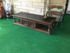 Long,great condition coffee table