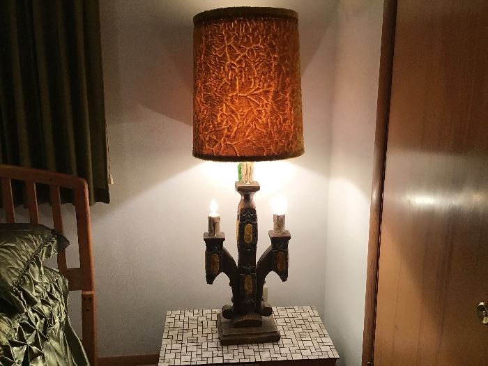 Gothic lamp, works great!