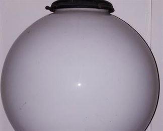 large vintage ball light