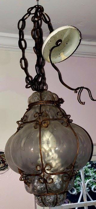 great vintage hall light
