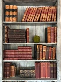 Books, Books and More Books. Located both on Main Floor and Basement.