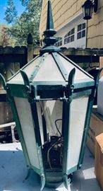 Original 1914 Functioning GE Lantern / Lamp from Union Station.
