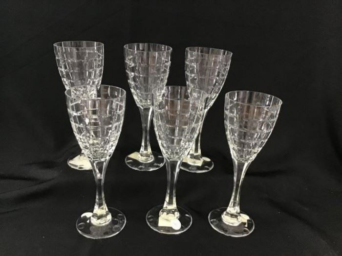 Christian Dior Crystal Water Goblets https://ctbids.com/#!/description/share/138650