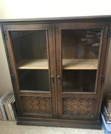 Small cabinet with glass in doors https://ctbids.com/#!/description/share/139028