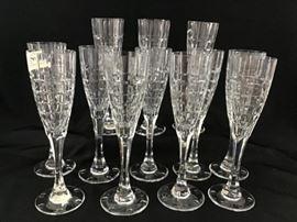 Christian Dior crystal champagne glasses https://ctbids.com/#!/description/share/138652