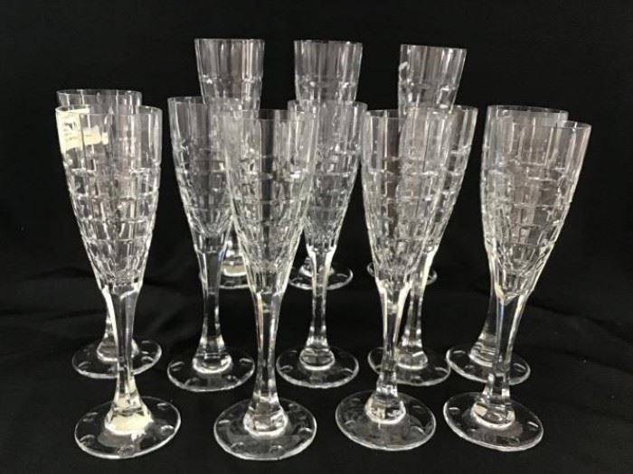 Christian Dior crystal champagne glasses https://ctbids.com/#!/description/share/138652