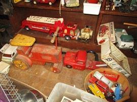Antique & vintage toys, trucks, models, etc!