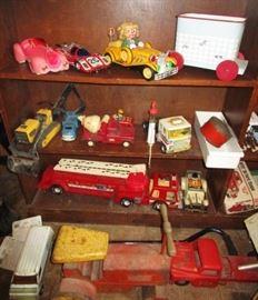 Antique & vintage toys, cars, trucks, trailers, etc!