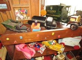 Antique & vintage toys, trucks, cars, etc!