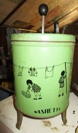 Vintage Washette toy washing machine
