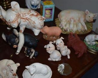 """Fantastic Vintage """"Pig"""" Collection!"""