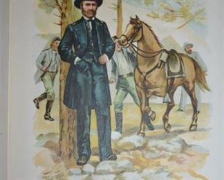 Many Books including this 1902 Ulysses S. Grant Book in Excellent Condition!