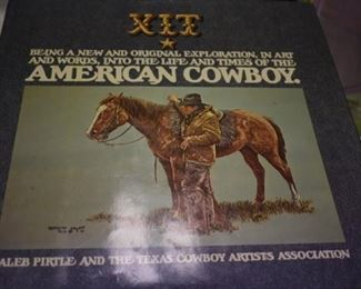 Signed 1st Edition Book of XIT The American Cowboy in Excellent Condition -