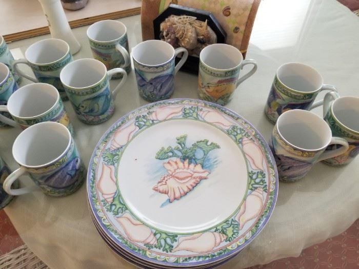 coastal dinnerware