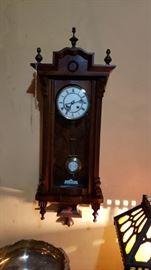 German Vienna style clock works great.