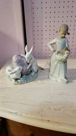 Lladro's in perfect condition