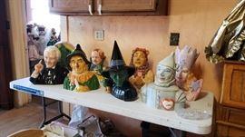 Wizard of Oz Star Jars cookie jars