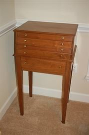 5 drawer silver ware chest (one of two)