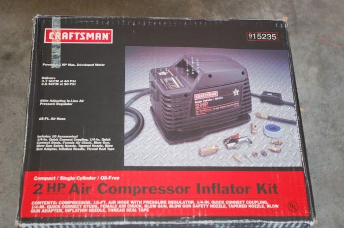 Craftsman 2 hp portable compressor