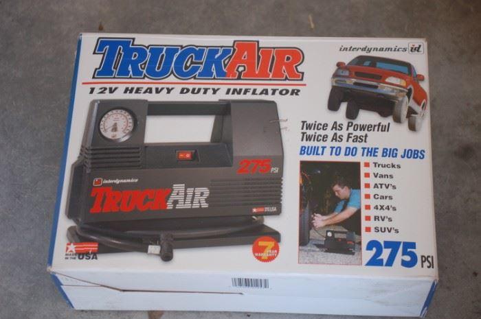 Truck Air portable compressor