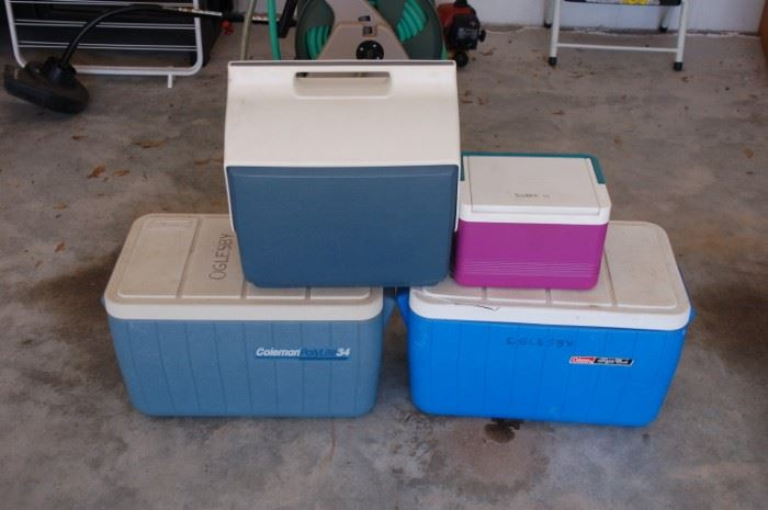 Variety of coolers