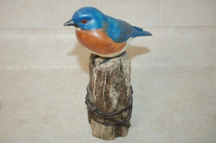 Blue Bird figurine - Big Sky Carvers, Master's Edition, 257/1250