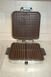 Rival waffle maker