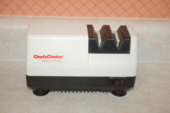 ChefsChoice knife sharpner