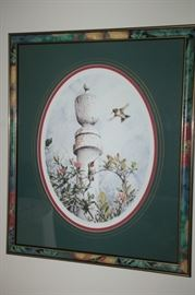 Wildlife by Jay Mizzel,  signed 97/300 Hummingbirds