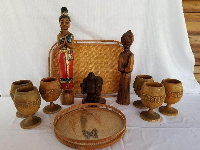 Vintage International carved wood decor collection https://ctbids.com/#!/description/share/136910