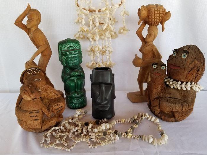 Vintage Tiki Bar Polynesian Decor https://ctbids.com/#!/description/share/136909