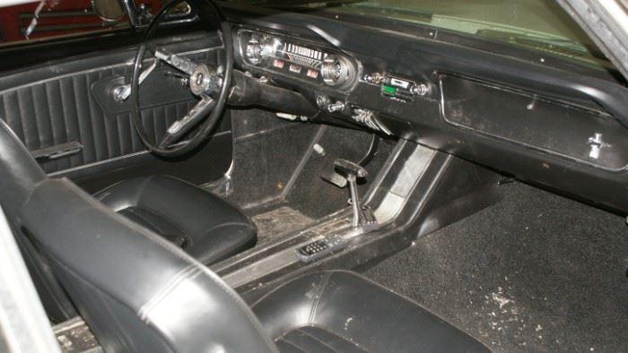 65 mustang interior
