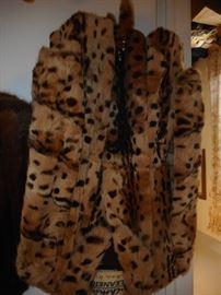 Vintage Leopard Fur Jacket